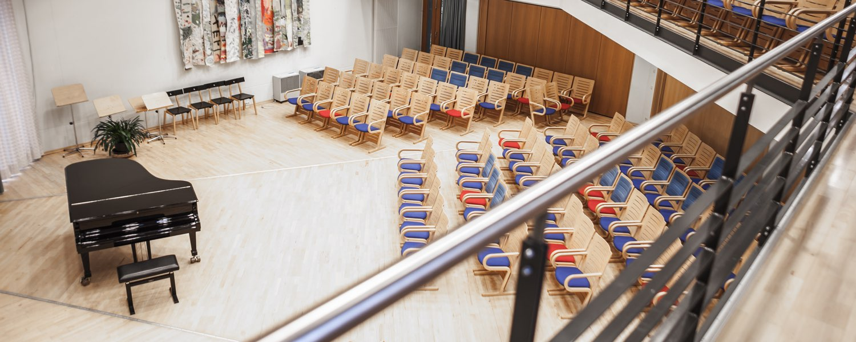 Konzertsaal Rang - Marie Seebach Forum