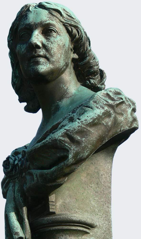Büste Marie Seebach Weimar